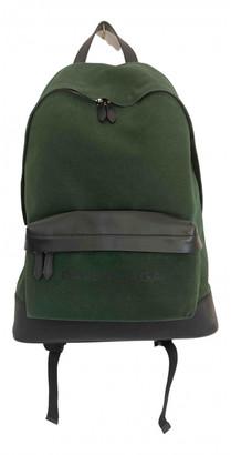 Balenciaga Green Cloth Backpacks
