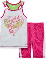 Asics Tank Top and Shorts Set - Preschool Girls 4-6x