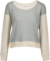 Kain Label Georgina textured-knit and stretch-jersey sweatshirt