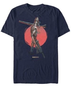 Star Wars Men's Mandalorian Red Sun Ig-11 T-shirt