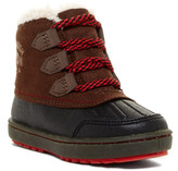 Osh Kosh OshKosh Harrison Faux Fur Lined Lace Boot (Toddler & Little Kid)
