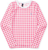 Ralph Lauren 7-16 Gingham Rash Guard