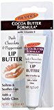 Palmers Cocoa Butter Formula Dark Chocolate & Peppermint Lip Butter 0.35 oz by