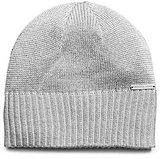 Michael Kors Metallic Knitted Hat