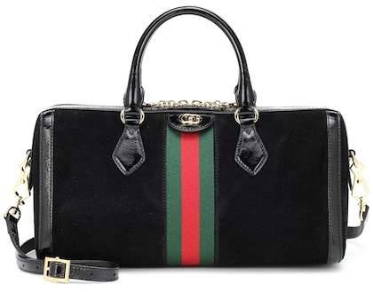 Gucci Ophidia Medium suede shoulder bag