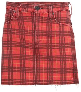 Hudson Jeans Viper Plaid Mini Skirt