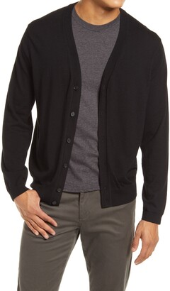 Vince Men's Featherweight Wool & Cashmere Cardigan