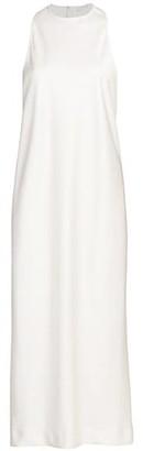 Tibi Celia Draped Sleeveless Bias Dress