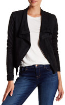 Vigoss Faux Suede Wrap Jacket