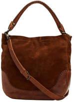 Frye Women's Melissa Whipstitch Hobo Bag - Chestnut Medium Handbags