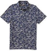Michael Kors Palm Print Short-Sleeve Polo Shirt