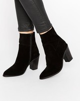 Asos EBER Suede Ankle Boots
