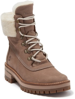 Timberland Courmayer Valley Genuine Shearling Lug Boot