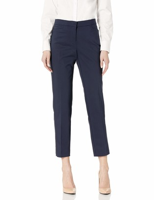 Rafaella Women's Lightweight Satin Twill Ankle Pant