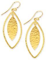 Gurhan Willow Geo Marquise Drop Earrings