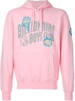 Billionaire Boys Club printed logo hoodie
