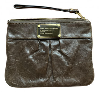 Marc by Marc Jacobs Brown Leather Clutch bags