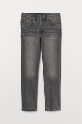 H&M COOLMAX Regular Jeans - Gray