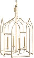 Chelsea House Seville 4-Light Lantern, Swedish White