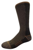 Dickies Men's Steel Toe Cotton 2-Pack Crew Socks