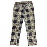 Issey Miyake Grey Cotton Jeans