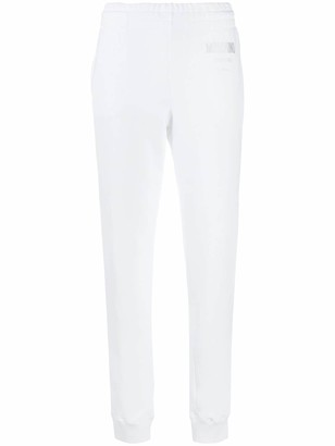 Moschino High-Waisted Track Pants