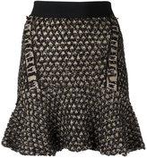 Cecilia Prado knit flare skirt