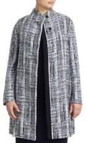 Marina Rinaldi, Plus Size Jacquard Wool-Blend Coat
