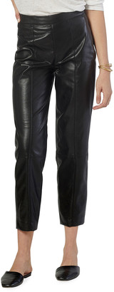 Joie Bianca Faux-Leather Cropped Pants