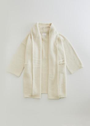 LAUREN MANOOGIAN Women's Capote Shawl Coat in White