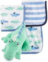 Carter's Baby 3-pk. Washcloths & Plush Toy Set