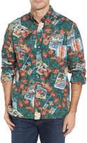 Reyn Spooner Hawaiian Christmas 2017 Sport Shirt