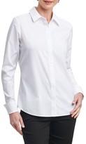Foxcroft Women's Elise Non-Iron Stretch Cotton Shirt