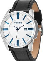Police Gents Governer strap watch