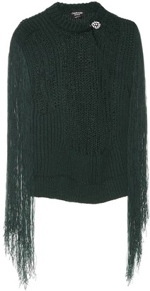 Calvin Klein Fringed sweater