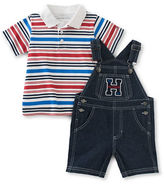 Tommy Hilfiger Two-Piece Shortall and Polo Set