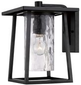 Quoizel Lodge Large Single-Light Wall Lantern in Mystic Black