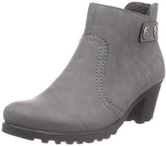 Rieker Women's Y8062 Ankle Boots, Grey (Dust/42)