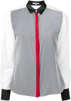 GUILD PRIME striped shirt - women - Polyester - 34