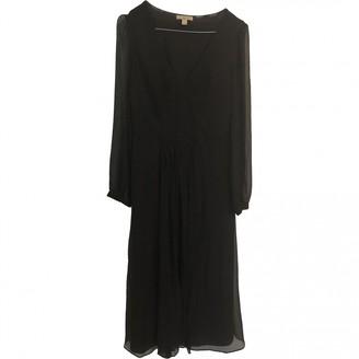 Burberry Black Silk Dresses