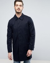 Paul Smith Trench Coat in Navy