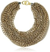 Katerina Psoma Bronze Chains Necklace of Length 52cm