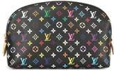 Louis Vuitton monogram print cosmetic pouch