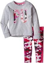 Puma Kids Cropped Leggings & Top Set (Toddler)
