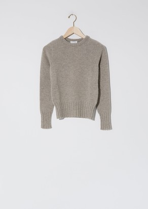 Lemaire Fitted Sweater Wisp Grey