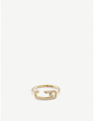 Messika Gigi Hadid Move Addiction 18ct yellow-gold diamond ring