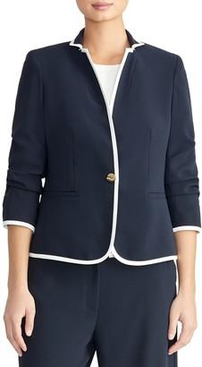 Rachel Roy Gathered Sleeve Blazer