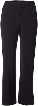 Alfred Dunner Women's Petite Proportioned Short Knit Pant