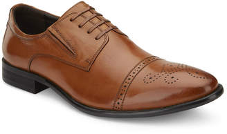 Vintage Foundry Men's Perforated Leather Cap-Toe Dress Shoes