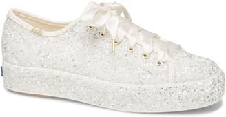 Kate Spade Keds® for Keds® x triple kick allover glitter sneaker